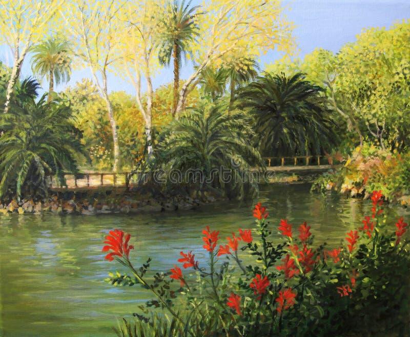 Jardim de Eden fotografia de stock royalty free