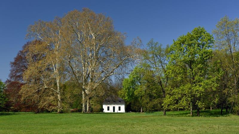 Jardim de Grafenegg, Niederosterreich, ?ustria fotos de stock royalty free