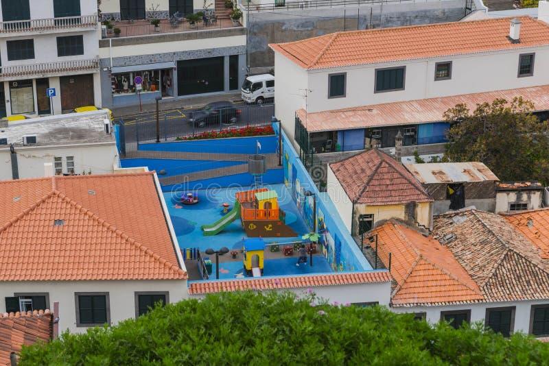 Jardim de infância em Camara de Lobos fotografia de stock