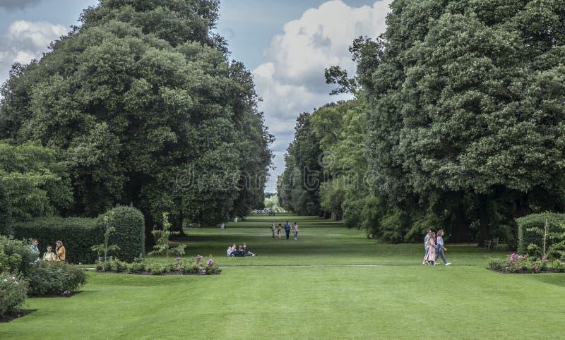 Jardim de Kew, o parque fotografia de stock royalty free