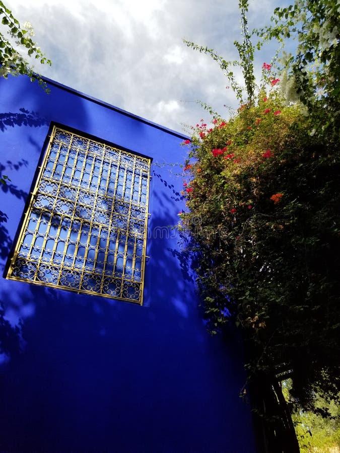 Jardim de Majorelle imagens de stock royalty free