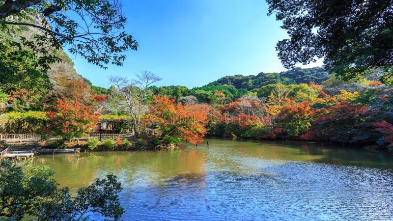 Jardim de Mifuneyama Rakuen fotografia de stock