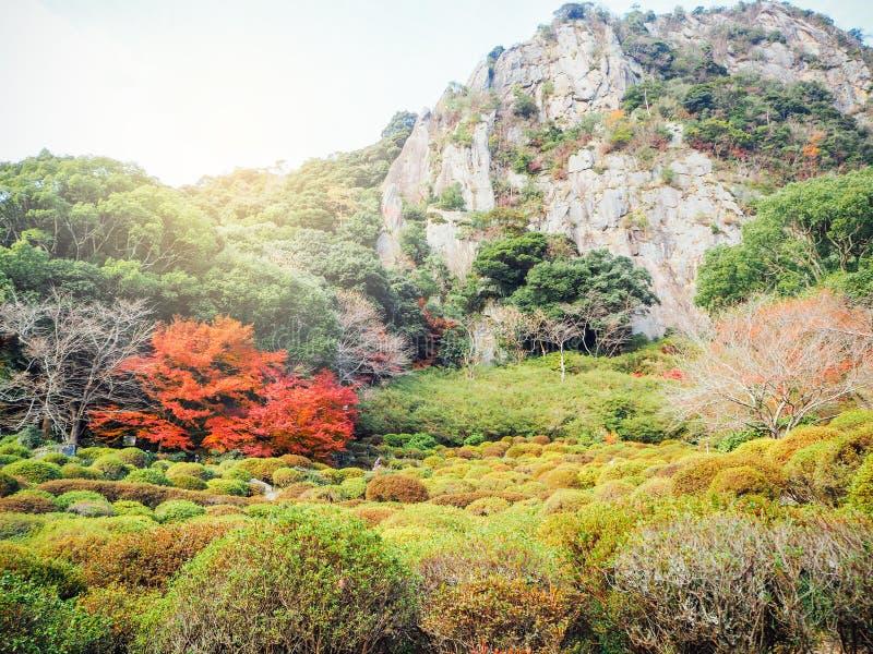 Jardim de Mifuneyama Rakuen foto de stock