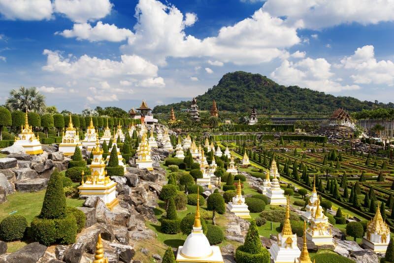 Jardim de Nong Nooch em Pattaya fotografia de stock