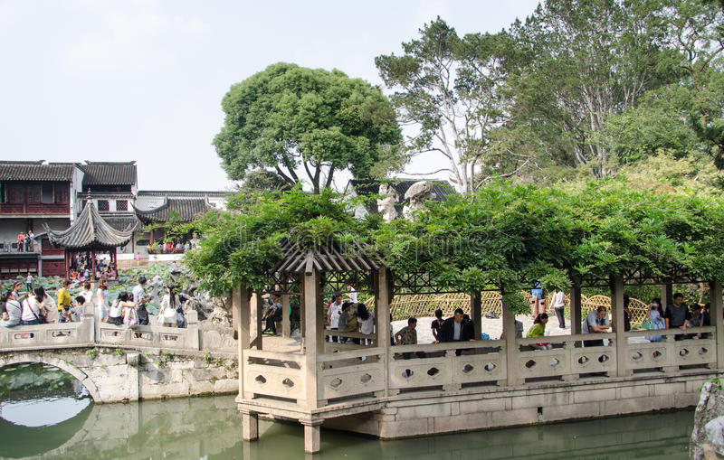 Jardim de Suzhou fotos de stock royalty free