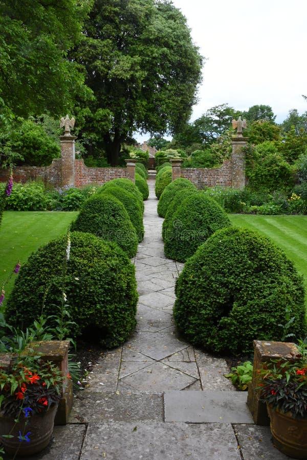 Jardim de Tintinhull, Somerset, Inglaterra, Reino Unido fotografia de stock