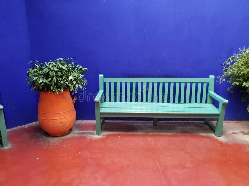 Jardim de Yves StLaurent imagens de stock
