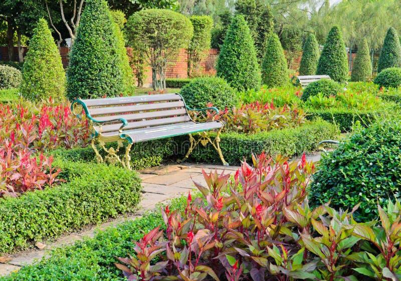 Jardim decorativo fotos de stock