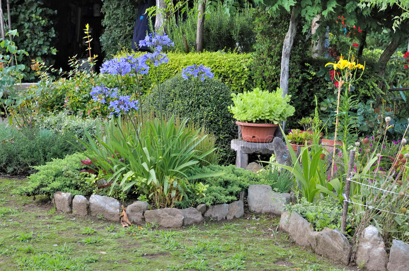 Jardim decorativo foto de stock royalty free