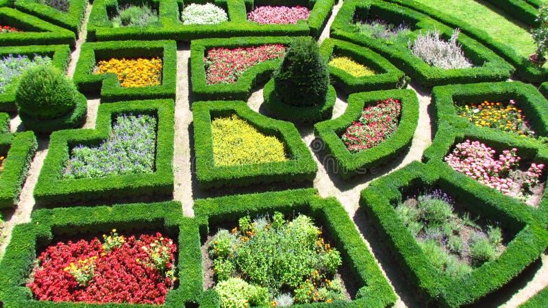 Jardim do castelo imagem de stock royalty free
