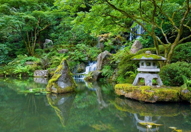Jardim do japonês de Portland fotografia de stock