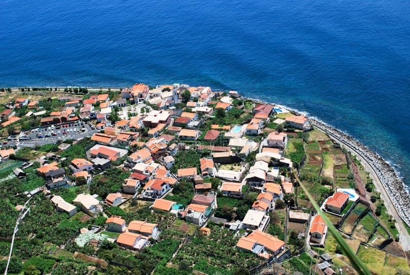 Jardim do Mar in het eiland van Madera stock fotografie