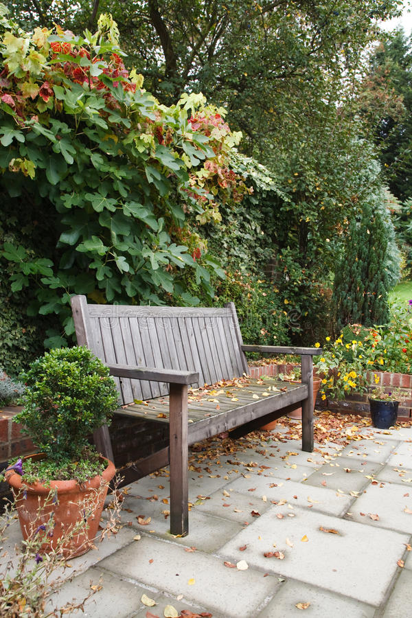 Jardim Do Outono Fotos de Stock Royalty Free