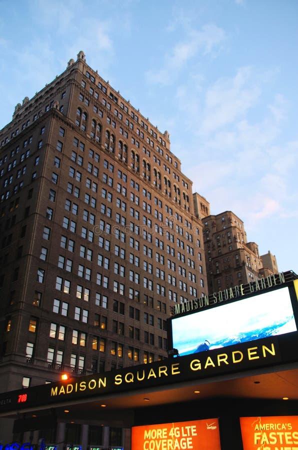 Jardim do quadrado de Madison fotos de stock