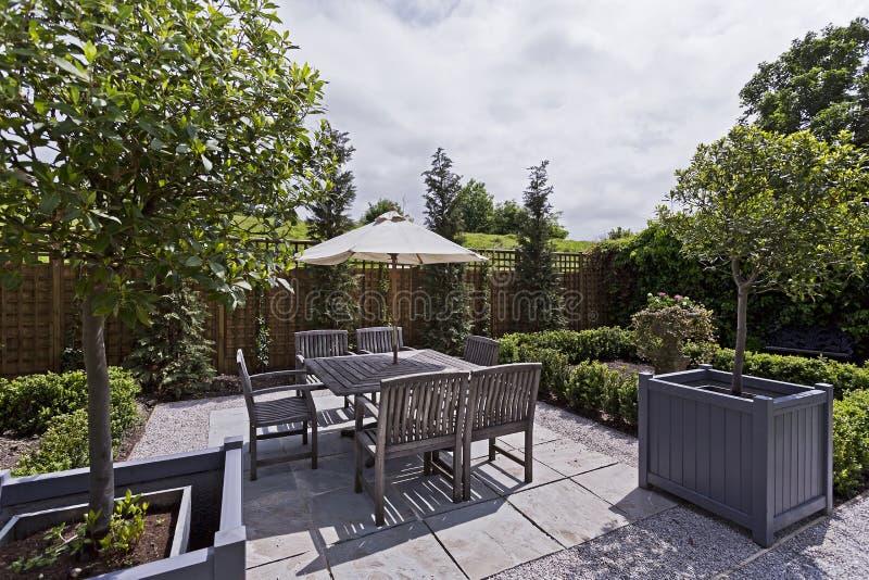 Jardim doméstico imagem de stock