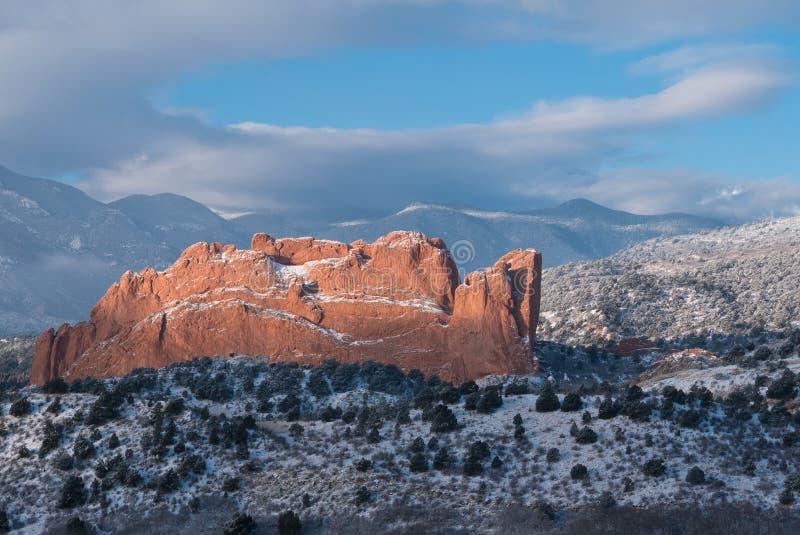 Jardim dos deuses, Colorado fotos de stock royalty free
