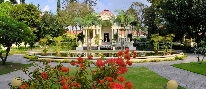 Jardim dos sonhos kathmandu nepal fotografia de stock royalty free