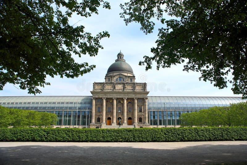Jardim em Munich fotografia de stock