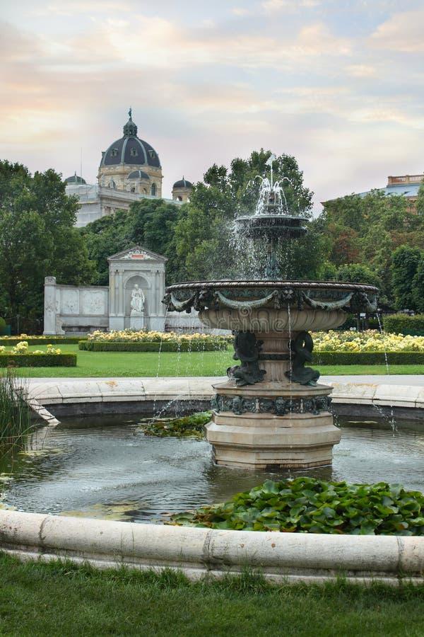 Jardim em Viena imagens de stock