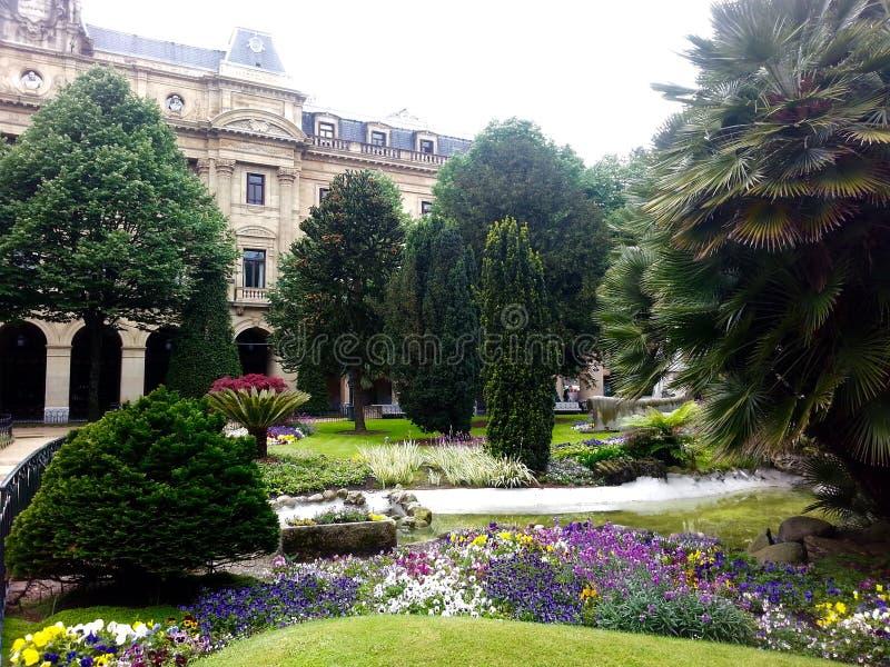Jardim espanhol foto de stock
