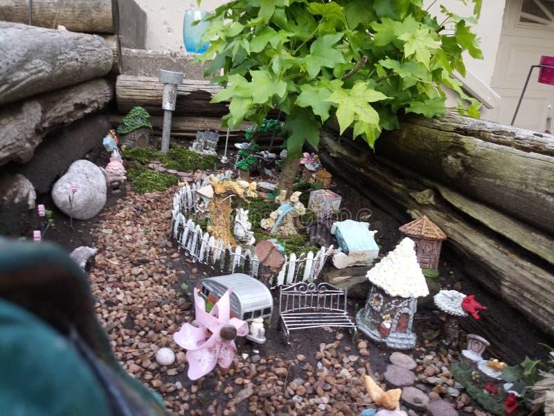 Jardim feericamente foto de stock