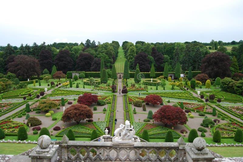 Jardim formal foto de stock