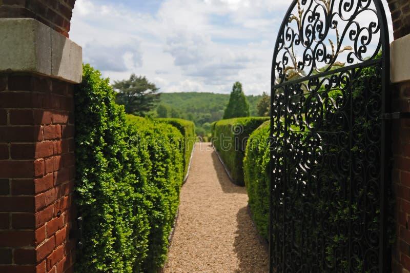 Jardim formal de Annie Du Pont fotos de stock