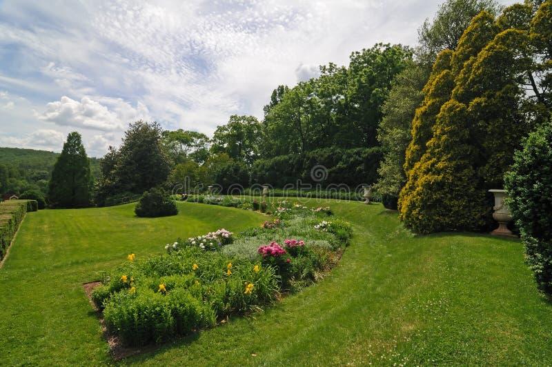 Jardim formal de Annie Du Pont fotos de stock royalty free