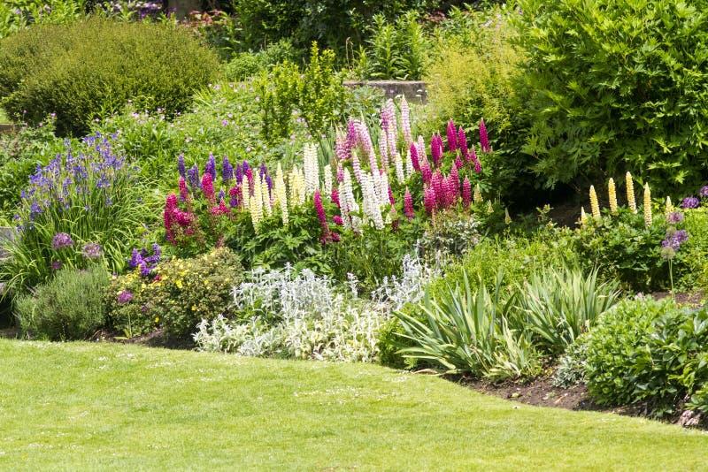 Jardim formal do país inglês fotos de stock royalty free
