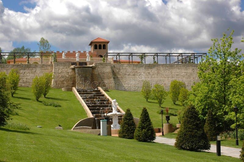 Jardim italiano. foto de stock
