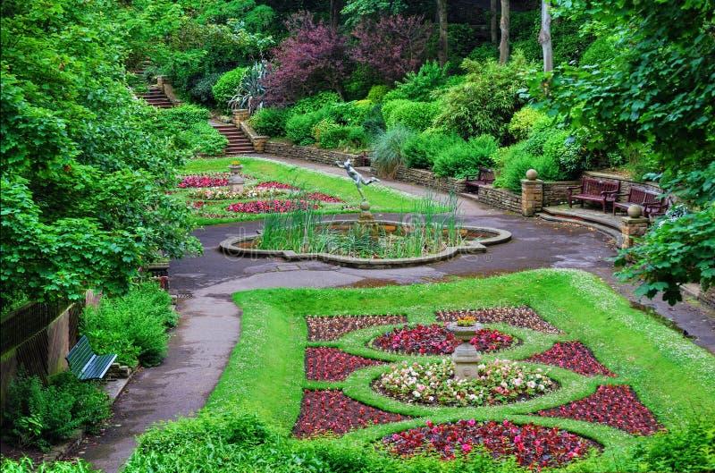 Jardim italiano do estilo do ornamento imagem de stock royalty free