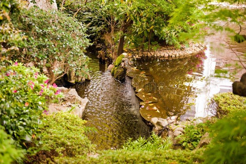 Jardim japonês 2 imagens de stock royalty free