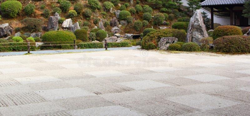 Jardim japonês em Kyoto fotos de stock royalty free