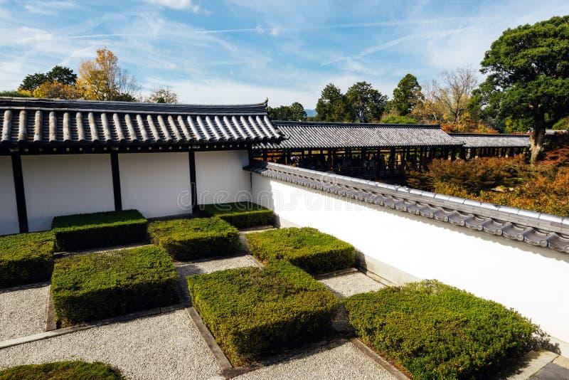 Jardim japonês em Kyoto imagens de stock