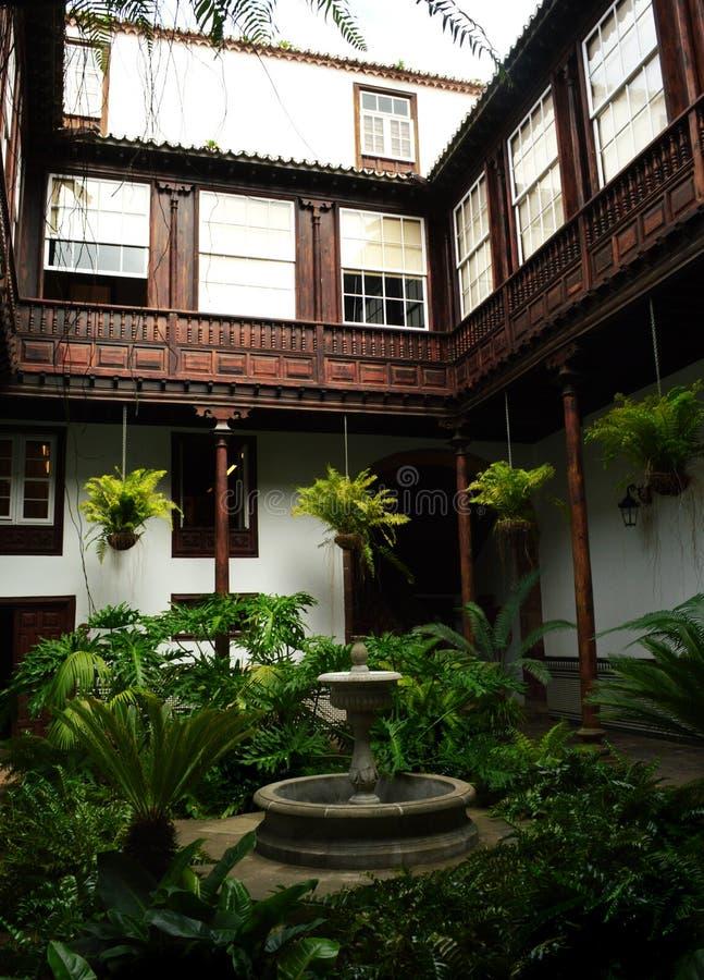 Jardim la laguna, tenerife fotografia de stock