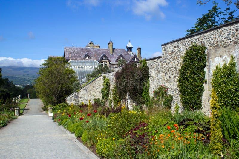 Jardim murado imagens de stock royalty free