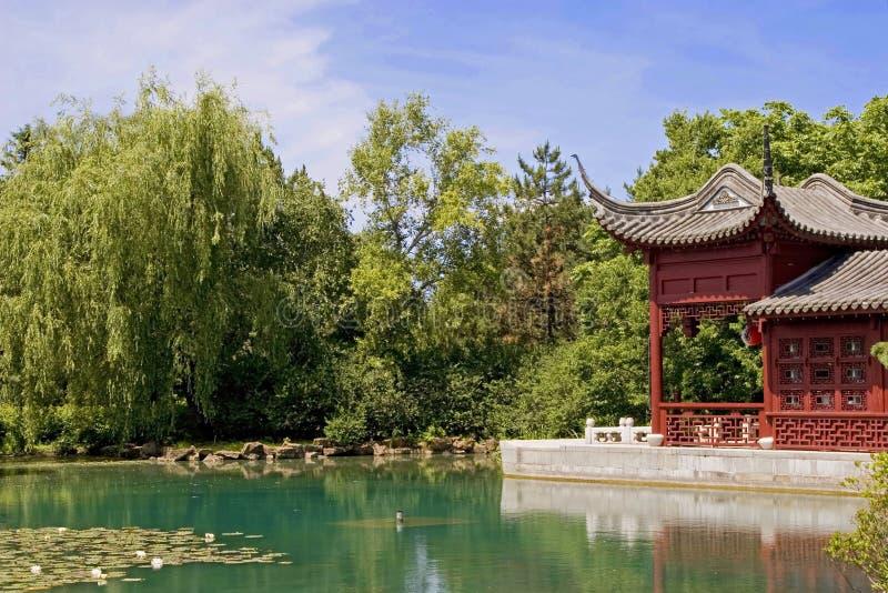 Jardim oriental   fotografia de stock royalty free