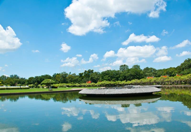 Jardim tailandês fotos de stock royalty free