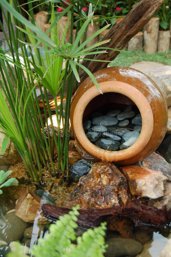 Jardim tropical imagens de stock royalty free