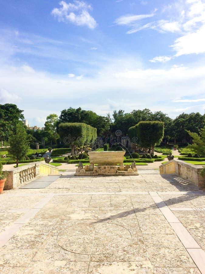 Jardim verde fotografia de stock