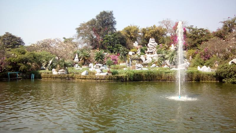 jardim zoológico de pattaya imagens de stock royalty free