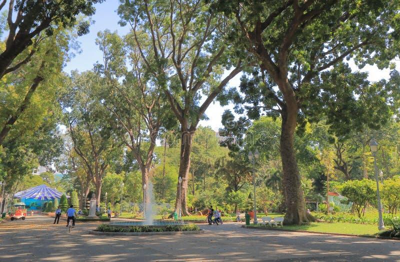 Jardim zoológico de Saigon e jardins botânicos Ho Chi Minh City Vietnam fotografia de stock