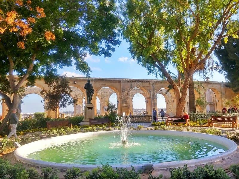 Jardin à Malte images libres de droits