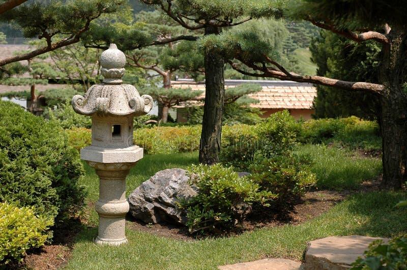 Jardin asiatique ii de lanterne photo stock image du Jardin asiatique