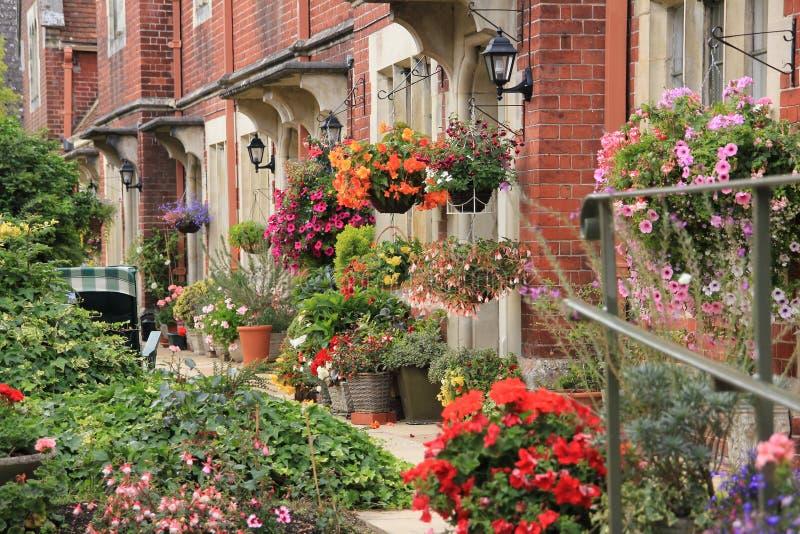 Jardin avant photo stock