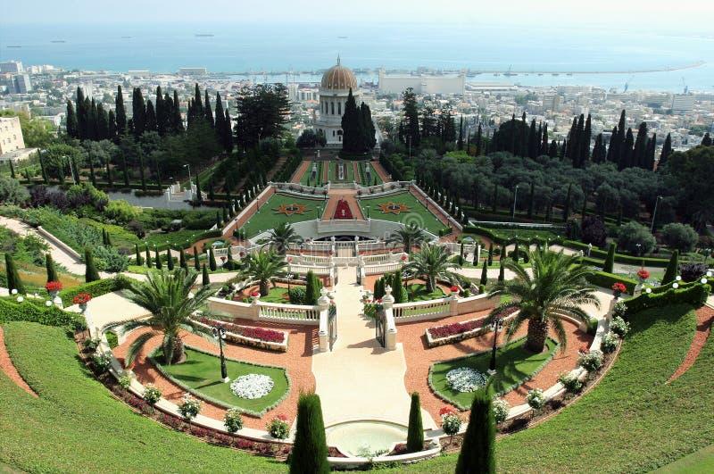 Jardin Bahai photographie stock libre de droits