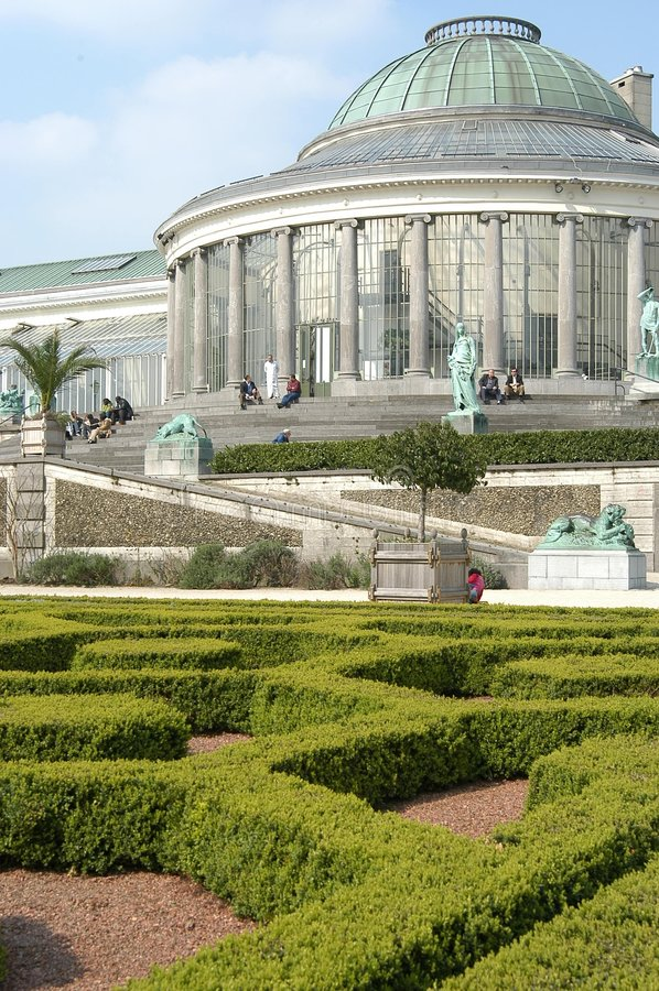 Jardin Botanique royalty free stock photography