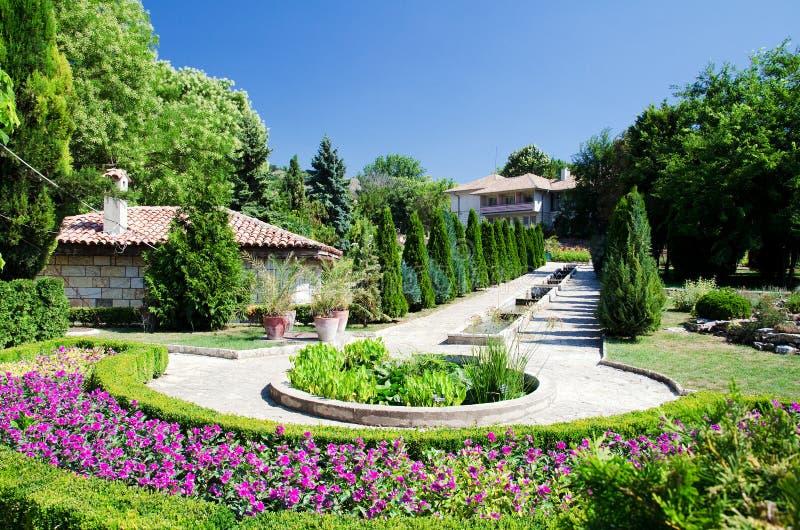 Jardin botanique de Balchik images libres de droits