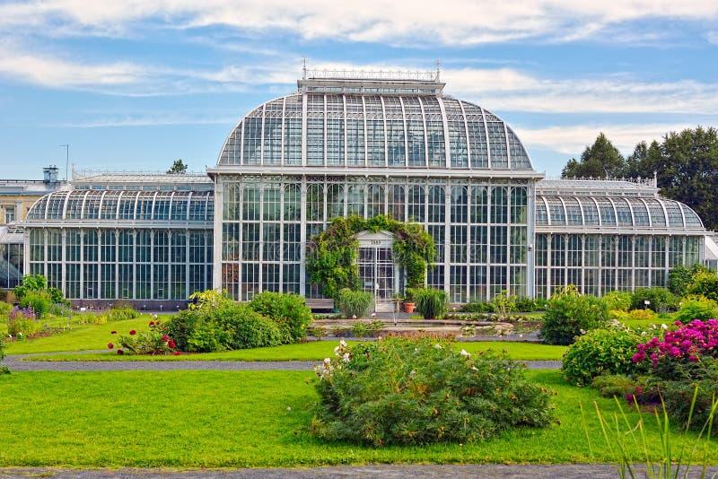 Jardin botanique de Helsinki photo stock