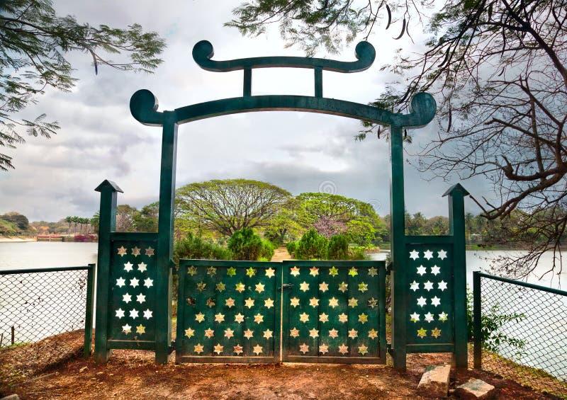 Jardin botanique de Lalbagh à Bangalore photographie stock libre de droits